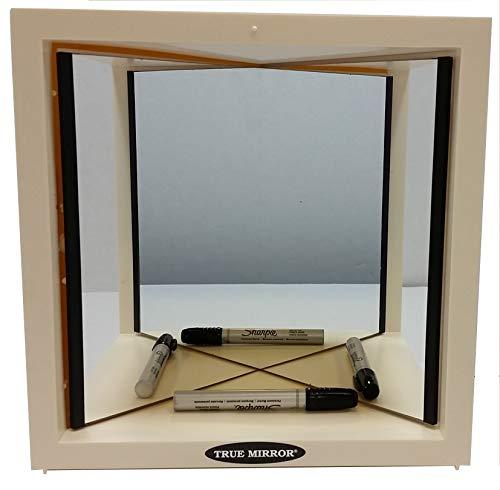 True Mirror True Mirror W Ivory Case, -