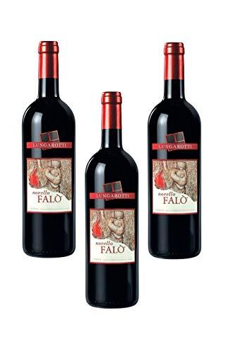 3 Bottiglie di Vino Novello Falò Lungarotti