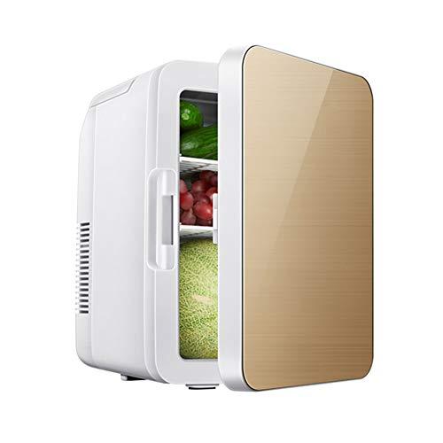 Camping Kühlschrank, Kühlschrank, 8 Liter 2 in 1 Digitaler Mini Kühlschrank Kühlbox Warmhaltebox Campingkühlschrank 12 & 220 Volt, Kühlt Bis 25°C Unter Umgebungstemperatur