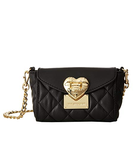 Love Moschino Mini Crossbody Bag Quilted Black