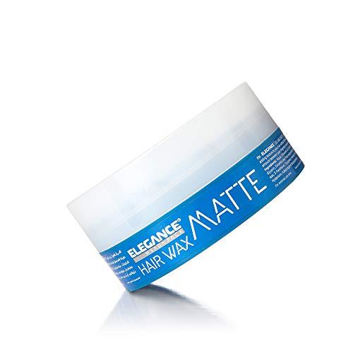 ELEGANCE HAARWACHS MATTE bester Halt für die Haare sowie unglaubliche Definitionsmöglichkeiten - Auf Wasserbasis hergestellt und leicht abwaschbar - Matt Effekt mit gepflegtem low shine - 140ml
