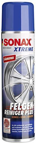 SONAX XTREME FelgenReiniger PLUS (400 ml) effiziente und säurefreie Reinigung aller Leichtmetall- und Stahlfelgen sowie lackierte, verchromte und polierte Felgen   Art-Nr. 02303410