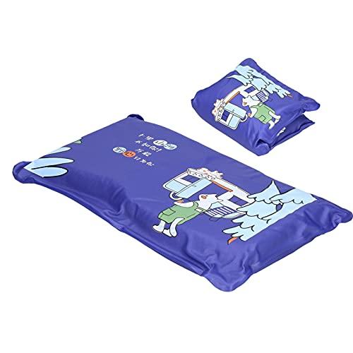 Snufeve6 Cojín de enfriamiento, Almohada de enfriamiento por Agua Plegable Disipación de Calor Verano para el hogar para el Dormitorio(1013 Dark Blue, Polar Animals)
