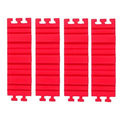 Heaviesk Nonstick 4 Stücke Set Silikon DIY Backform Magische Herzform Backenwerkzeuge Rechteckige Runde Küchenzubehör
