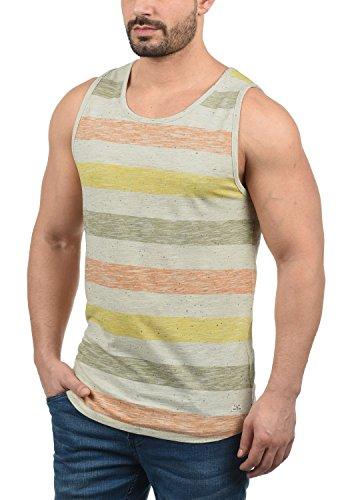 Blend Afkinas Herren Tank Top Mit Rundhals-Ausschnitt Regular Fit, Größe:L, Farbe:Jaffa Orange (72514)