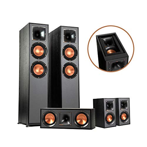 Klipsch Reference Dolby Atmos 5.0.2 Home Theater System with Immersive Surround Capabilities