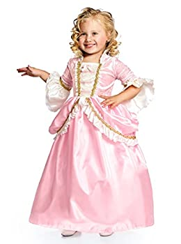 Little Adventures Pink Renaissance Princess Dress up Costume for Girls  Small Age 1-3