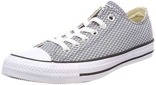 Converse Damen CTAS OX Light Carbon/White/Natural Fitnessschuhe, Blau 534, 39 EU