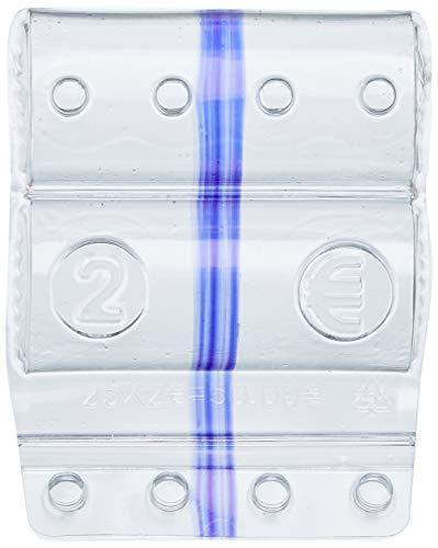 Iternet, bolsa de 100portamonedas de 2euros, envoltura violeta