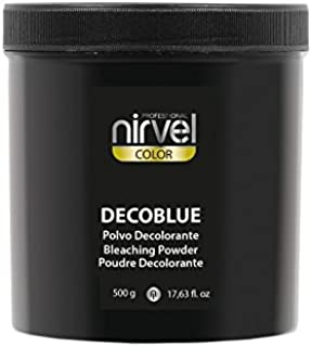 Nirvel Decoblue - Tinte decolorante en polvo (500 g): Amazon ...