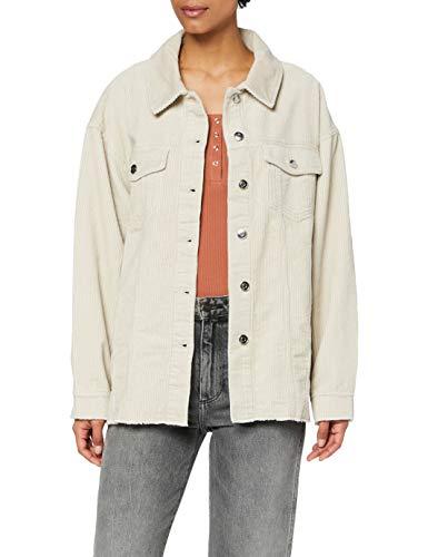 Hemdjacke aus Kordsamt