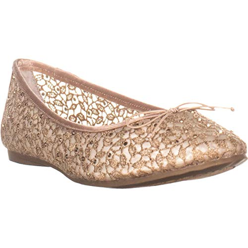 Adrianna Papell Womens Shirley Closed Toe Ballet Flats, Blush, Size 7.5