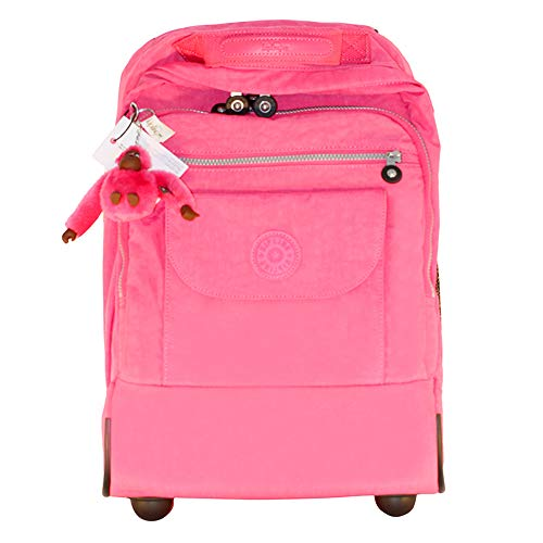 Product Image of the Kipling Sanaa Wheeled Backpack (Hydrangea Pink)