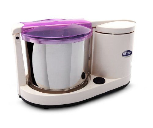 Ultra Dura+ Table Top 1.25L Wet Grinder with Atta Kneader,...