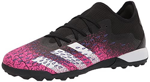 adidas Predator Freak .3 L Turf Soccer Shoe (mens) Black/White/Shock Pink 12