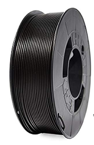 Filamento 3DWorld PLA HD ɸ 1.75mm +0,1{dfadbbde089d2f3c178127850d3754b50284f4175dbccd21bf192cbb16cadc1a} Color Negro Azabache 1.000 gr
