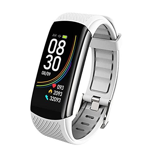 MicLee Reloj inteligente para mujer y hombre, pulsera de actividad Bluetooth, resistente al agua, IP67, pantalla de alta definición, multiidioma, reloj deportivo, para iOS y Android