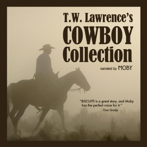 T.W. Lawrence's Cowboy Collection audiobook cover art