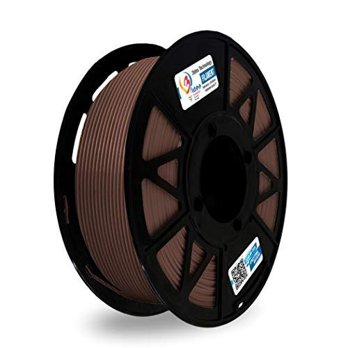 ICE Filaments ICEFIL1PLA104 filamento PLA,1.75mm, 0.75 kg, Barbaric Brown