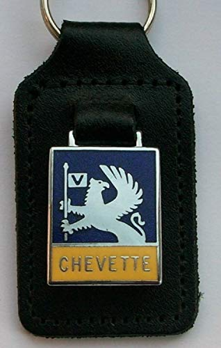 Vauxhall Chevette Enamel and leather key ring