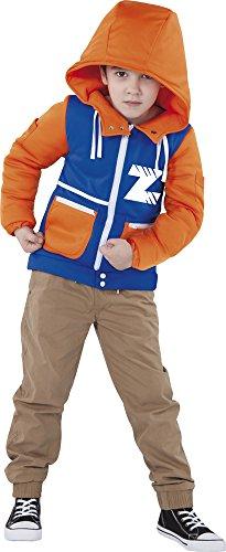 Rubies- Invizimals Disfraz infantil, Color naranja y azul, L (7-8 años) (Rubie's S8360-L)