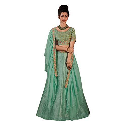 Designer Wedding Bridal Lehenga Choli Ghagra Girl Skirt Top Rock Kleid mit Dupatta Frauen traditionelle Hochzeit indische Frau festlich Hijab...