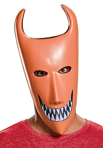 Nightmare Before Christmas Lock Mask Standard Orange