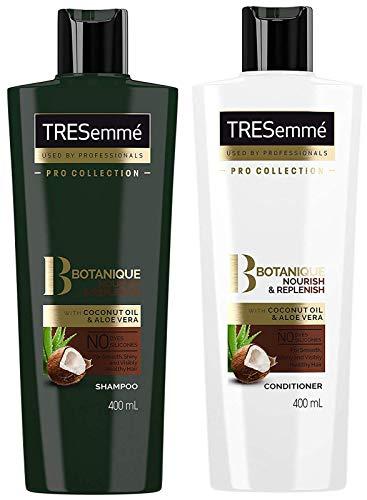 Tresemme Botanique Ensemble shampooing et après-shampoing pour nourrir et reconstituer 400 ml chacun sans colorants, sans parabène, sans silicone