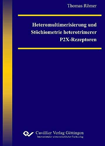 Heteromultimerisierung und Stöchiometrie heterotrimerer P2X-Rezeptoren