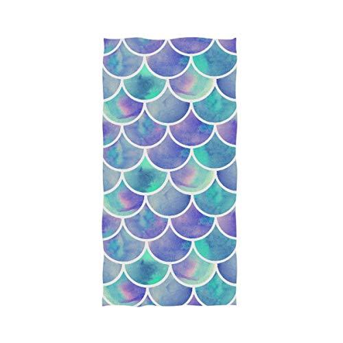 VLOOQ-HX Elegantes Acuarelas del Arco Iris Básculas de
