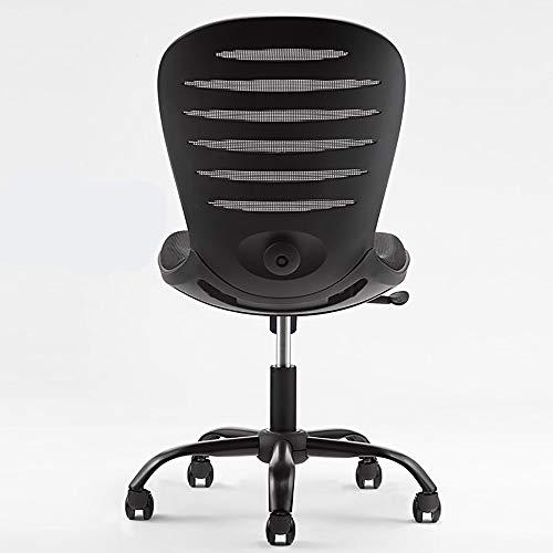 BLWX - Fauteuil pivotant-Chaise de bureau Home Office Chair Fauteuil Boss Chair Chaise d'étude Pas d'accoudoir + accoudoir Élévateur Chaise pivotante (Couleur : G)