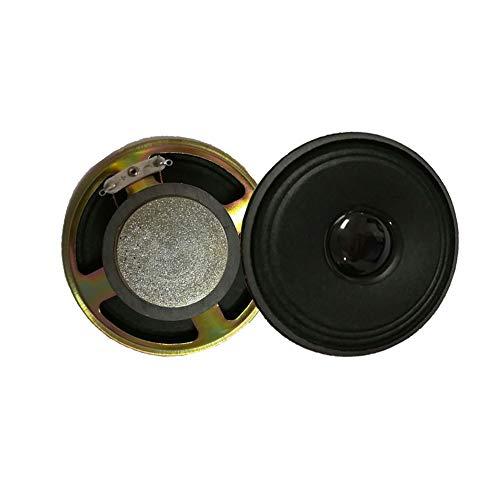 WNJ-TOOL, 2 stücke 3 Zoll 4Ohm 3w Full Range Lautsprecher Externe magnetische tragbare Audio-Lautsprecher-Einheit Heimkino Bluetooth-Lautsprecher (Größe : 3