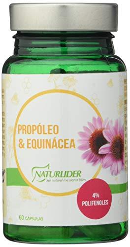 NATURLIDER Complemento Alimenticio a Base de Propóleo y Equinácea - 60 Cápsulas vegetales