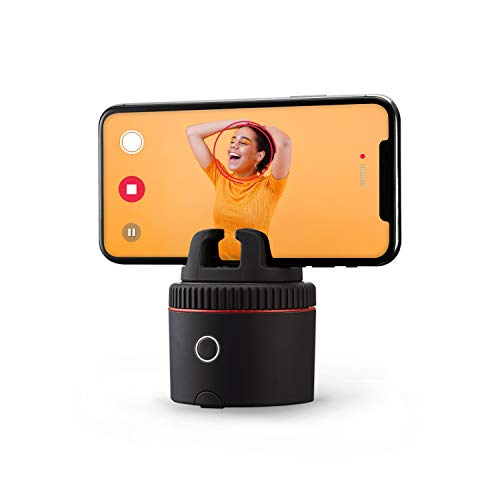 Pivo Pod - Auto-Tracking Smartphone Interactive Content Creation Pod – 360° Hands-Free Photos or Videos – Easy Special FX for iPhone or Android – Face, Body & Action Recognition