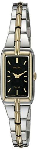 Seiko Women's SUP274 Analog Display Analog Quartz Two Tone Watch