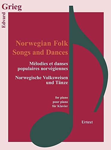 Norwegian Folk Songs, für Klavier (Classical Sheet Music)
