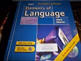 Elements of Language, 3rd Course, Teacher's Edition