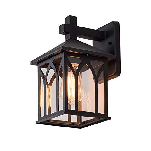 TXTC Vintage wandlantaarn rustieke wandlamp vakantie op de boerderij waterdichte wandlamp voor thuis, porch, terras, tuin