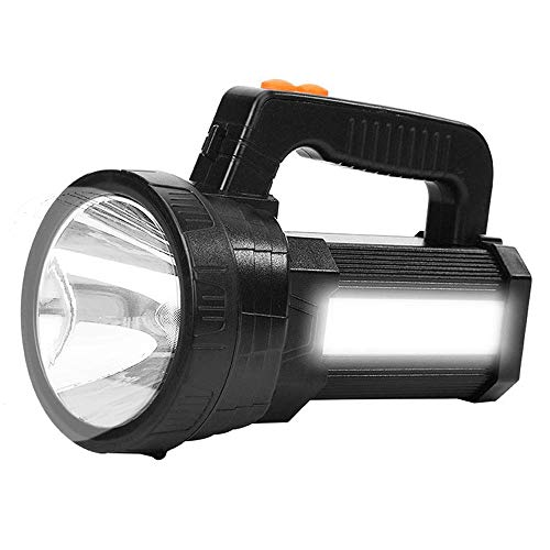 Rechargeable Torch LED Handheld Portable Searchlight Outdoor Flashlight 15600mAh 6000...