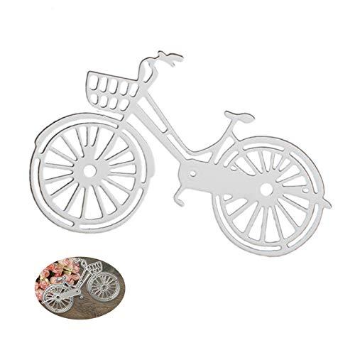 Fustelle per bicicletta per fai da te, scrapbooking e goffratura, in metallo, per matrimonio, album di ritagli, carta per progetti artistici, biglietti di auguri, album di ritagli, cornici per foto