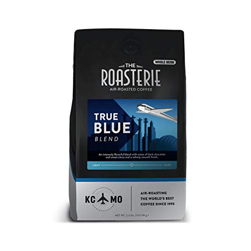 The Roasterie Air-Roasted Kansas City Coffee - True Blue Blend, Whole Bean (2.5 lbs)