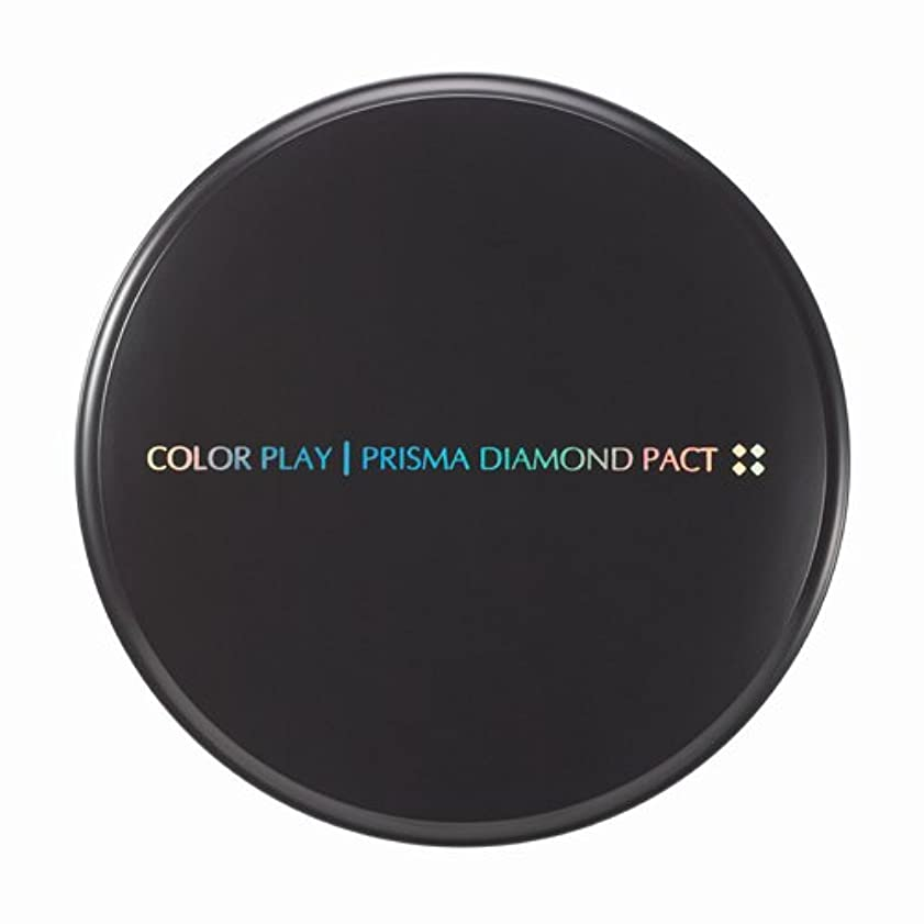 関係ない解放用量【It's skin(イッツスキン)】 Prisma Diamond Pact プリズマ ダイアモンド パクト SPF25,PA++ 21号:ライトベージュ
