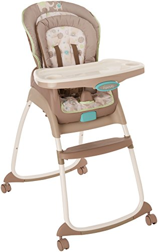 Ingenuity Trio 3-in-1 High Chair - Sahara Burst - High Chair, Toddler Chair, and Booster