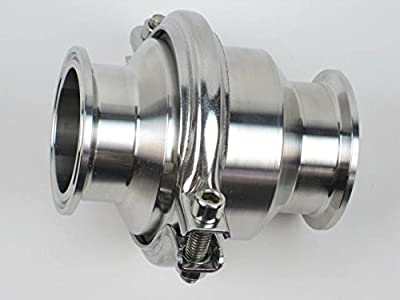"""1.5"""" Check Valve With Clamp Ends by Westco Fitting"""