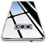 ykooe Transparent Series für Samsung Galaxy S10e Hülle, Ultra Dünn Anti-Vergilbung Anti-Fingerabdruck Durchsichtige Handyhülle für Samsung Galaxy S10e (Klar)