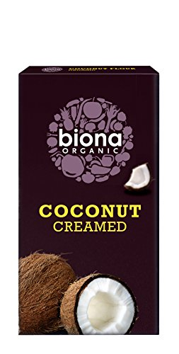 Biona Organic Creamed Coconut 200 g (Pack of 6)