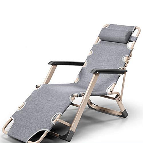 CUICI Übergroßen Gepolsterte Zero Gravity Stuhl,Einstellbar Terrasse Lounge Liegestuhl,Falten Camping Stuhl Für Outdoor Hof Veranda