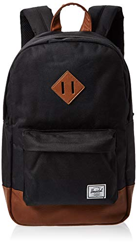 Herschel supply Company Heritage mid-volume zaino casual, Black (nero) - 10019-00001-OS