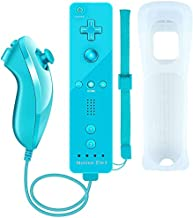$25 » Wii Motion Plus Controller,Uniway Wireless Wii Remote Controller and Nunchuck Joystick with Build-in Motion Plus Silicone ...
