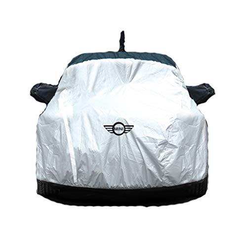 GAOY-CAR COVERS Compatible con Mini Modificación Mini Cooper Coche Cubierta del Coche de protección Solar a Prueba de Lluvia de Aislamiento del Espesamiento del Invierno de la Nieve